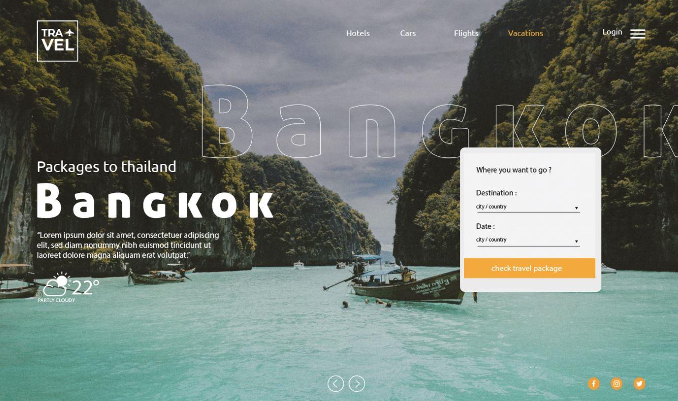 Chi phí thiết kế website du lịch hết bao nhiêu tiền?