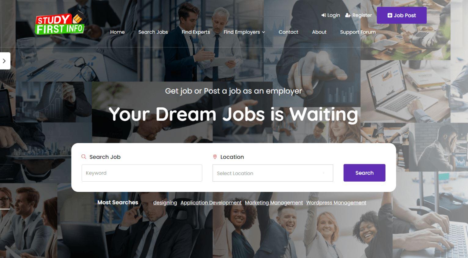 Những chức năng trên website tuyển dụng