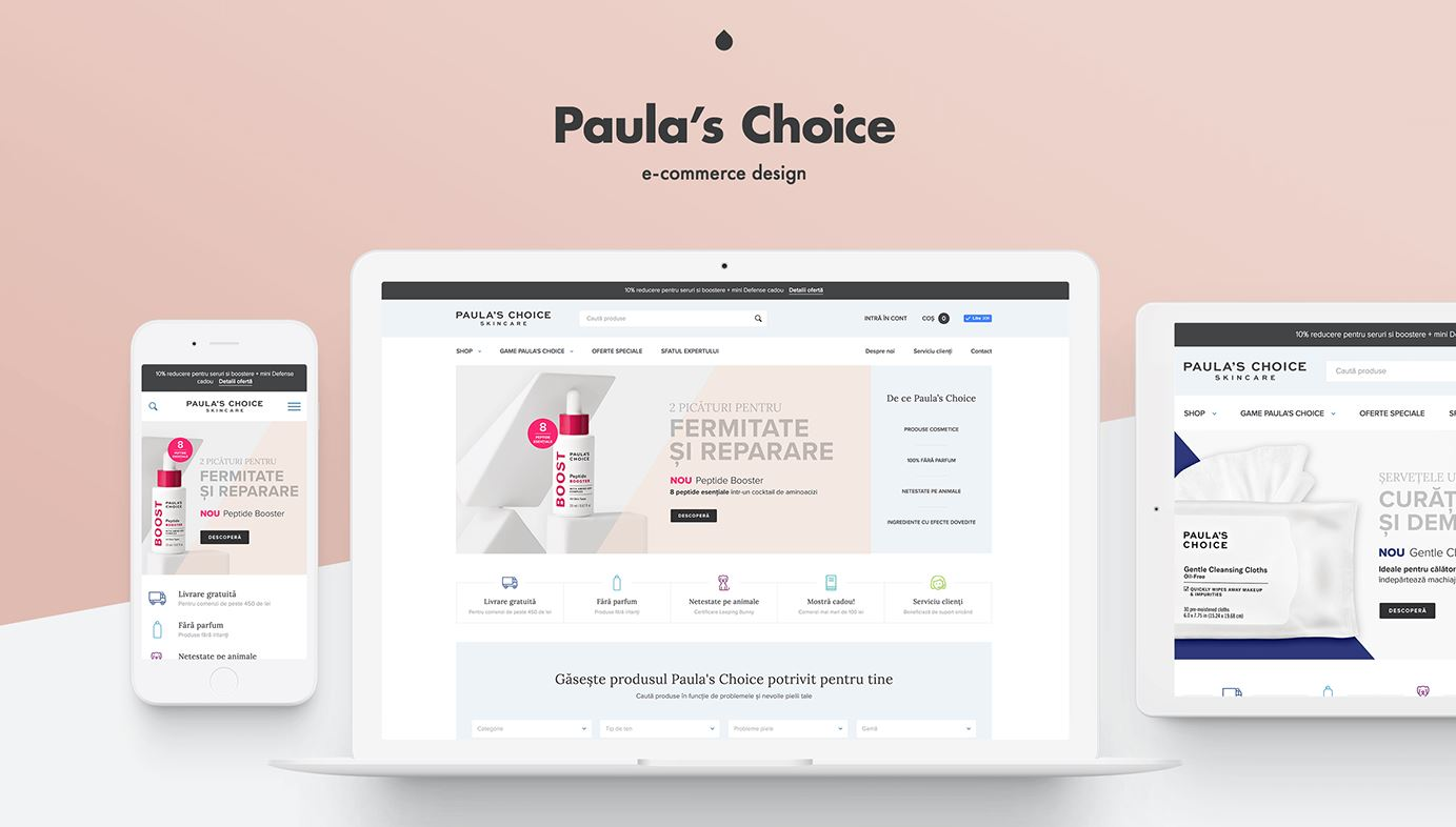 Chức năng của website mỹ phẩm