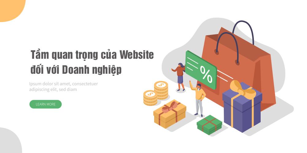 Tầm quan trọng của website đối với doanh nghiệp