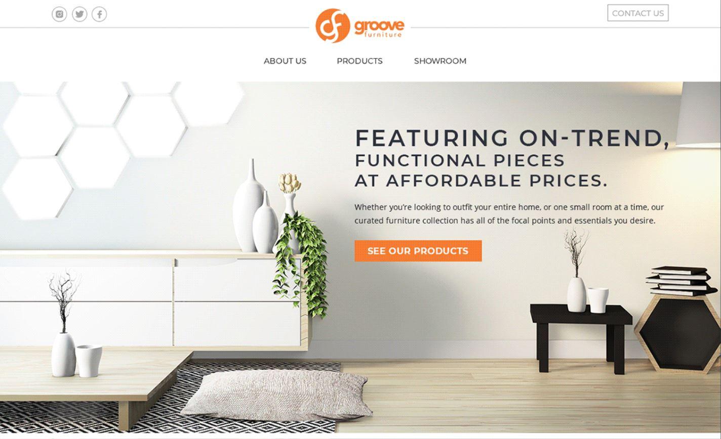 Thiết kế website công ty nội thất
