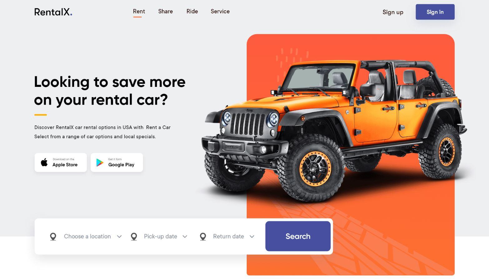 Thiết kế website bán ô tô, xe máy