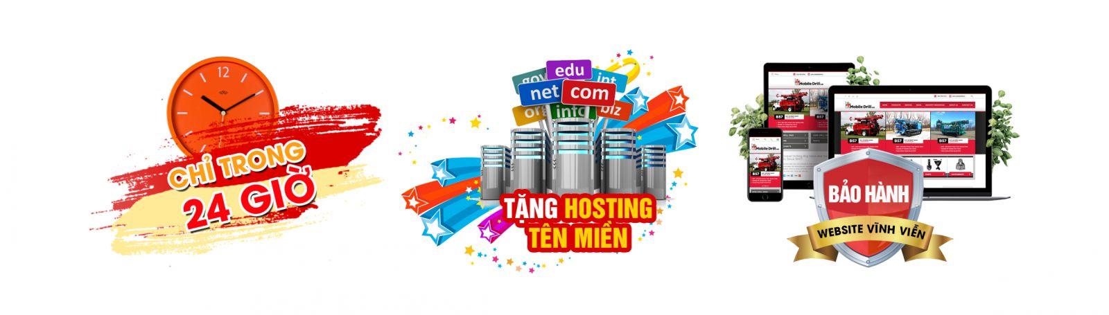 Thiết kế website tại huyện Bình Chánh uy tín, chất lượng, giá rẻ
