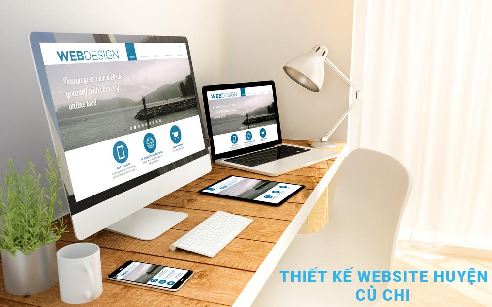Thiết kế website huyện Củ Chi