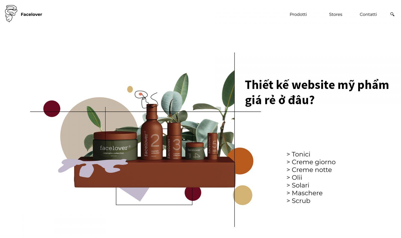 Thiết kế website mỹ phẩm giá rẻ ở đâu?