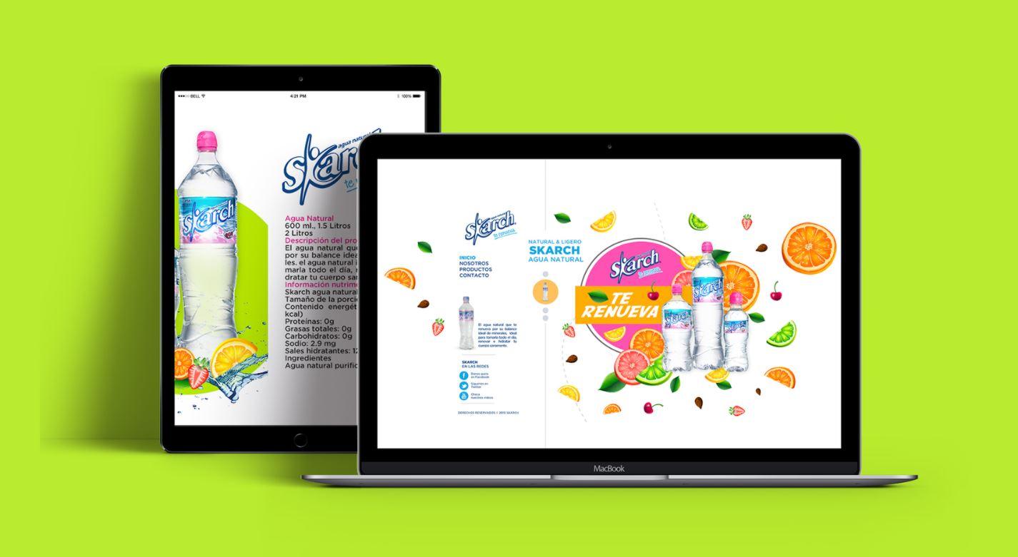 Thiết kế website nước uống