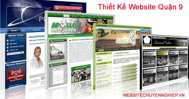 Thiết kế website quận 9 uy tín, chuyên nghiệp, giá rẻ