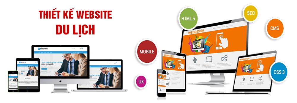 Thiết kế website du lịch