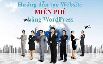 Cách tạo trang website miễn phí trên Google Sites và Wordpress